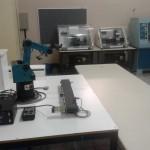 Laboratório de CNC e Robótica Industrial